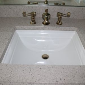 Quartz Bathroom Vanity Countertop